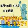 【5/16NY時間】ポンドドルの1.27717に注目!!
