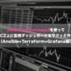 AWS RunCommandを使ってEC2上に監視ダッシュボードをサクッと作る(Ansible+Terraform+Grafana編)