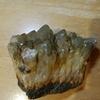 鉱石採集 先日拾った緑水晶をクリーニングしてみた①