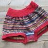 ソックヤーンで毛糸のおパンツを編む