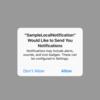 【iOS Swift入門 #292】 iOS10 User Notification frameworkを使ってローカル通知を送信する