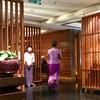 バンコク・スワンナプーム空港コンコースD タイ国際航空 ロイヤルシルクラウンジ&ロイヤルオーキッドスパ