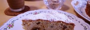 60代主婦のお菓子作り ラムレーズンのバターケーキがおいし過ぎました。