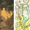 東洋画にも神の姿が見えている。