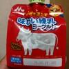 森永乳業 小腹を満たす 味わい練乳ヨーグルト 飲んでみました