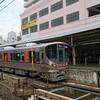 大阪環状線323系2016年12月24日からの新電車すれ違いに遭遇したよ