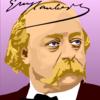 私生活のギュスターヴ・フロベール