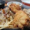 大阪難波にあるチカラめしで肉が沢山のった定食を食べてきました。美味しかったのですがお腹いっぱいになります。
