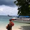 クラビ アオナンからボートでホン島へ行ってみた。