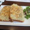 俺のBakery&Cafeで玉ねぎのグラタントースト(恵比寿)