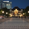 東京丸の内・大手町夕夜景『東京駅~大手町ビル群』