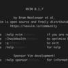 NeoVimのterminal-emulatorを使ってみる