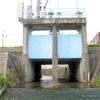 支流の樋門