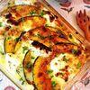 肉味噌と卵の南瓜グラタン