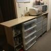 【DIY】キッチンカウンター作るよ!【5.扉つけて完成編】