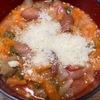 【トスカーナ料理】固くなったパンと豆と残り野菜で作るリボリータ