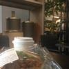 コクヨ直営ショップ&カフェ「Think of Things」。コーヒーも飲める落ち着いたセレクトショップみたいな感じ。