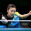 福原が準決勝敗退、3位決定戦へ 卓球女子