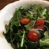 見た目普通のグリーンサラダ