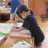 4年生:図工 のこぎり、かなづちを使って