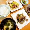 夏は野菜を意識して、栄養のバランスを  6月28日(火)の晩ごはん
