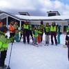 蔵王トレーニング1日目(水戸市民スキー教室)及び2018年水戸市市長杯スラローム大会開催