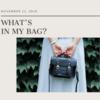 【新卒OL】のバッグの中身を紹介するよ!