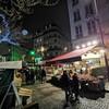パリ初日、ナイト・ウォーキング。けど、寒い。