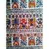 着物生地(366)更紗横段模様織り出し銘仙着物生地