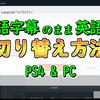 【Apex】日本語字幕のまま英語音声に設定する方法【PS4&PC】