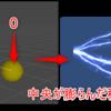 【Unity】稲妻のアセットを使って、フォースの暗黒面に触れる