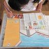 6年生:図工 わたしの大切な風景 丁寧に色塗り