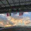 ラグビーワールドカップ。フランス対アメリカ。一生の思い出に。
