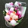 バルーンとお花の花束!高槻市、茨木市でのお祝い花はお任せください