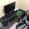 PCゲームを始めて1年!素人ゲーマーの1年間で揃えたPCデスク周りの紹介です!