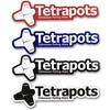 つり具・TEN入荷情報 持ち物のアピール度が格段にUP!「テトラポッツ/フレームロゴステッカー」各色入荷しました!!