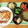 豆腐とハムのフラン