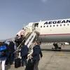 アテネ発サントリーニ行 OA354便 A321 の旅