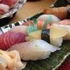 寿司屋にて