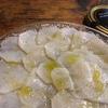 薄切りかぶさんに塩してオイルかけたん、とか、コールラビとカブのピクルス、とか