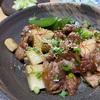 【レシピ覚書】長芋とカリカリ豚コマのスタミナ炒め(しにゃごはんさん)