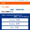 【結果】2017/5/27 TOEIC試験