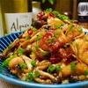 【レシピ】鶏もも肉としめじの柚子胡椒ポン酢炒め