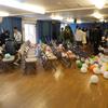賢治の学校の結婚式 会場準備   Vorbereitung der Hochzeitfest