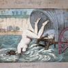 健康賛美の海水浴をする少しおかしな18世紀のヴィーナス(笑)