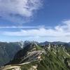燕岳へ登りました。 後半7/16ぶん