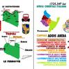 イタリア領アフリカ植民地の行政区分と交通機関(自動車道路Autostradaと鉄道路線Ferrovia)