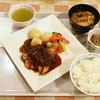 グリルチキン黒胡椒ソース本日のディナー