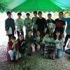 生徒会 足尾の森体験植林を実施