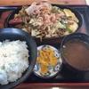 県境のムラ、奥三河・豊根村のレストランの『やきそば定食』